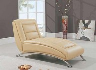 TY06BL BEIGE Leather Relax Chair