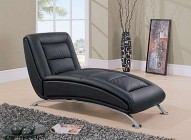 TY06BL BLACK Leather Relax Chair