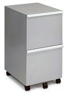 MP-05 Silver Mobile Office File Cart