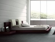 ROSSETTO FLOATING WIN Bed with Lights