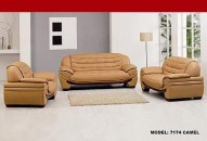 7174 Leather Living Room Set