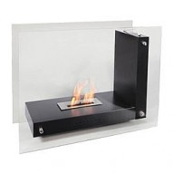 GALA Bio Ethanol Fireplace in black