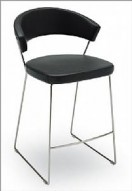 CALLIGARIS ICON Leather Bar Stool - Italy