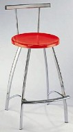 Barstool 40 Red Seat Bar Stool