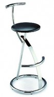 Barstool 45 Black Seat Bar Stool