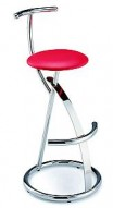 Barstool 45 Red Seat Bar Stool