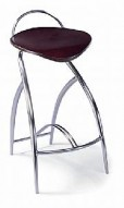 Barstool 48 Walnut Seat Bar Stool