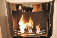 BLACK MIRROR Bio Ethanol Fireplace