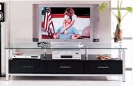 T801 Black TV Stand