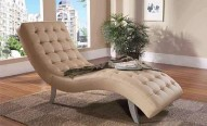 7900 Beige Leather Relax Chair