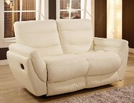 LOTUS Reclining Leather Loveseat
