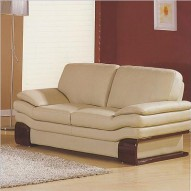 728 Leather Loveseat