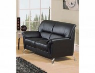 9103 BL Leather Loveseat