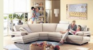 NATUZZI 2030 PLAZA Sectional Sofa - Italy
