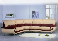 27 Leather Sectional