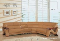 2033 Leather Sectional