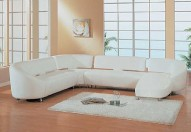 533W Leather Sectional