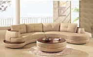 918 Leather Sectional
