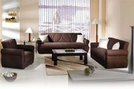 MELODY Naturale Brown Living Room Set